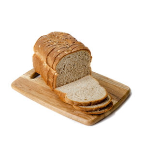 Large Bran Loaf Sliced